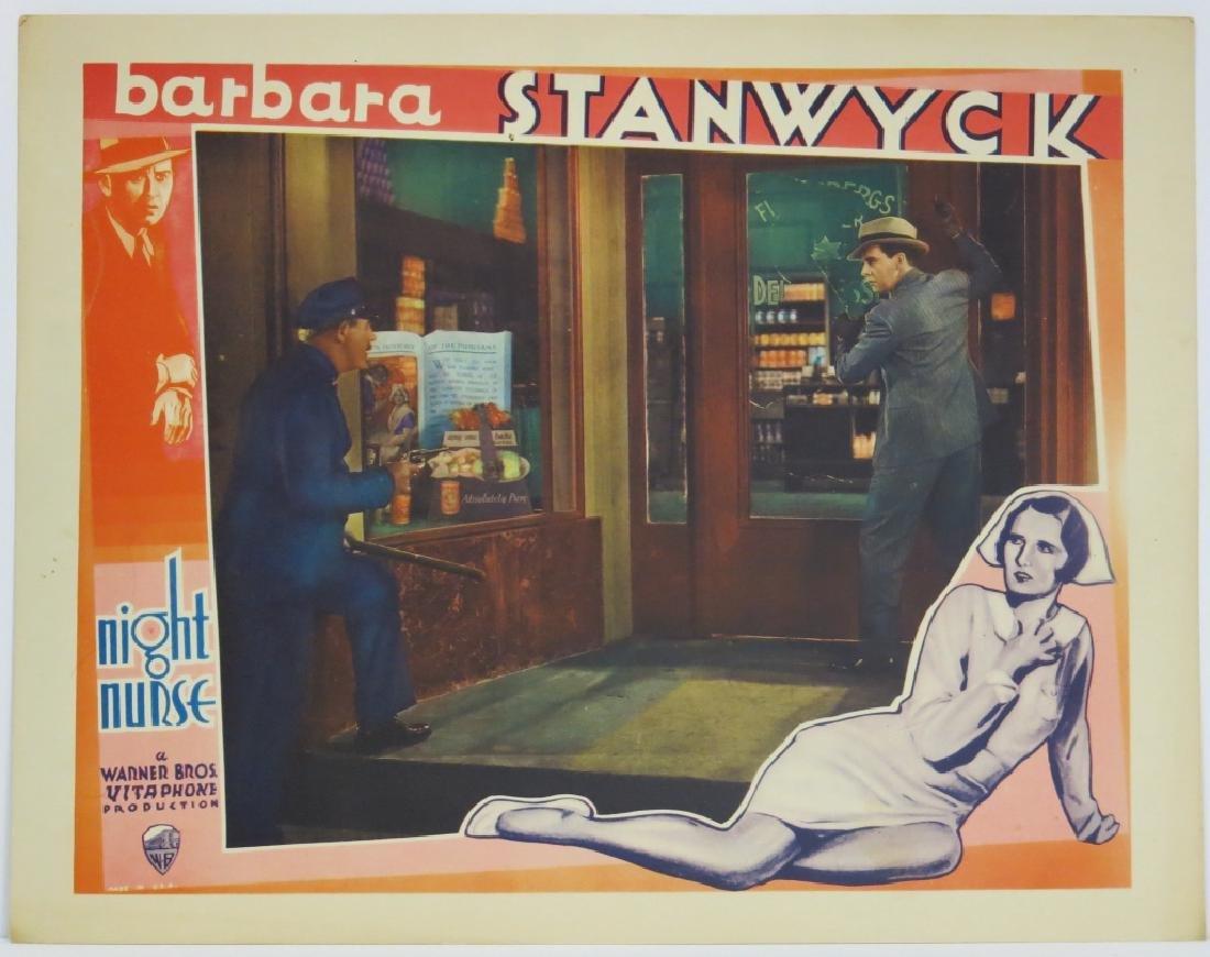 THE NIGHT NURSE LOBBY CARD SET WARNER BROS 1931 - 7