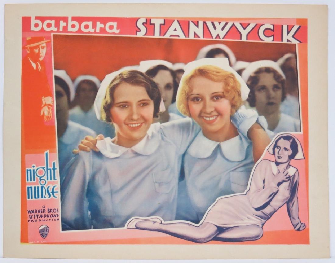 THE NIGHT NURSE LOBBY CARD SET WARNER BROS 1931 - 8