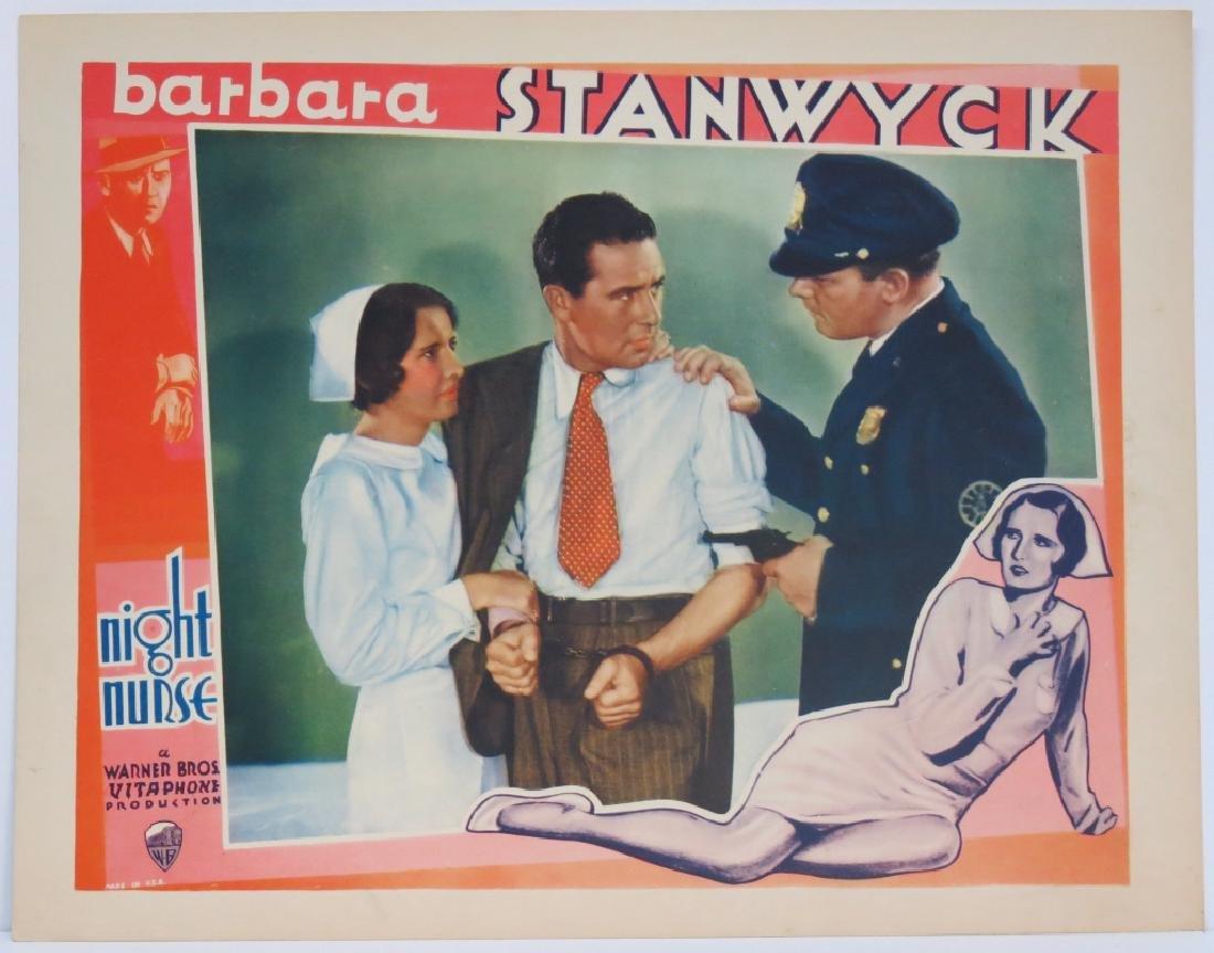 THE NIGHT NURSE LOBBY CARD SET WARNER BROS 1931 - 9