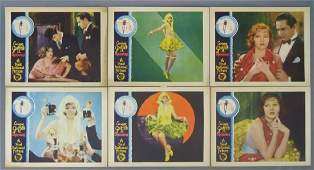 SIX PRISONERS LOBBY CARDS FIRST NATIONAL 1929