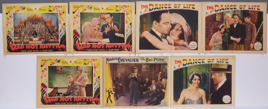 LOT OF 7 MUSICAL LOBBY CARDS