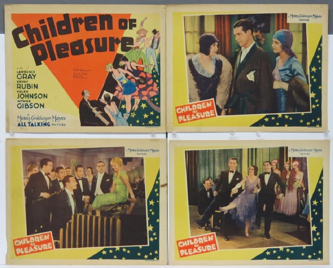 LOT OF 9 PRECODE MOVIE LOBBY CARDS - 2