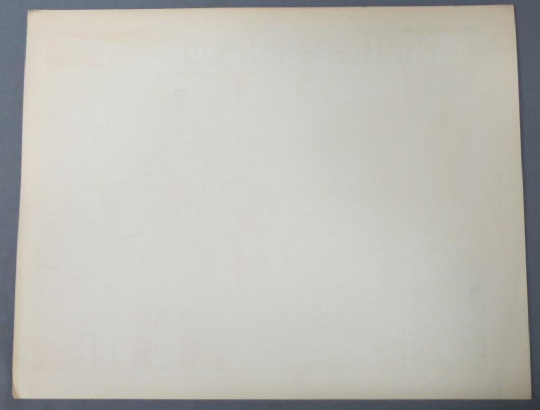 THE MALTESE FALCON LOBBY CARD WARNER BROS. 1931 - 5