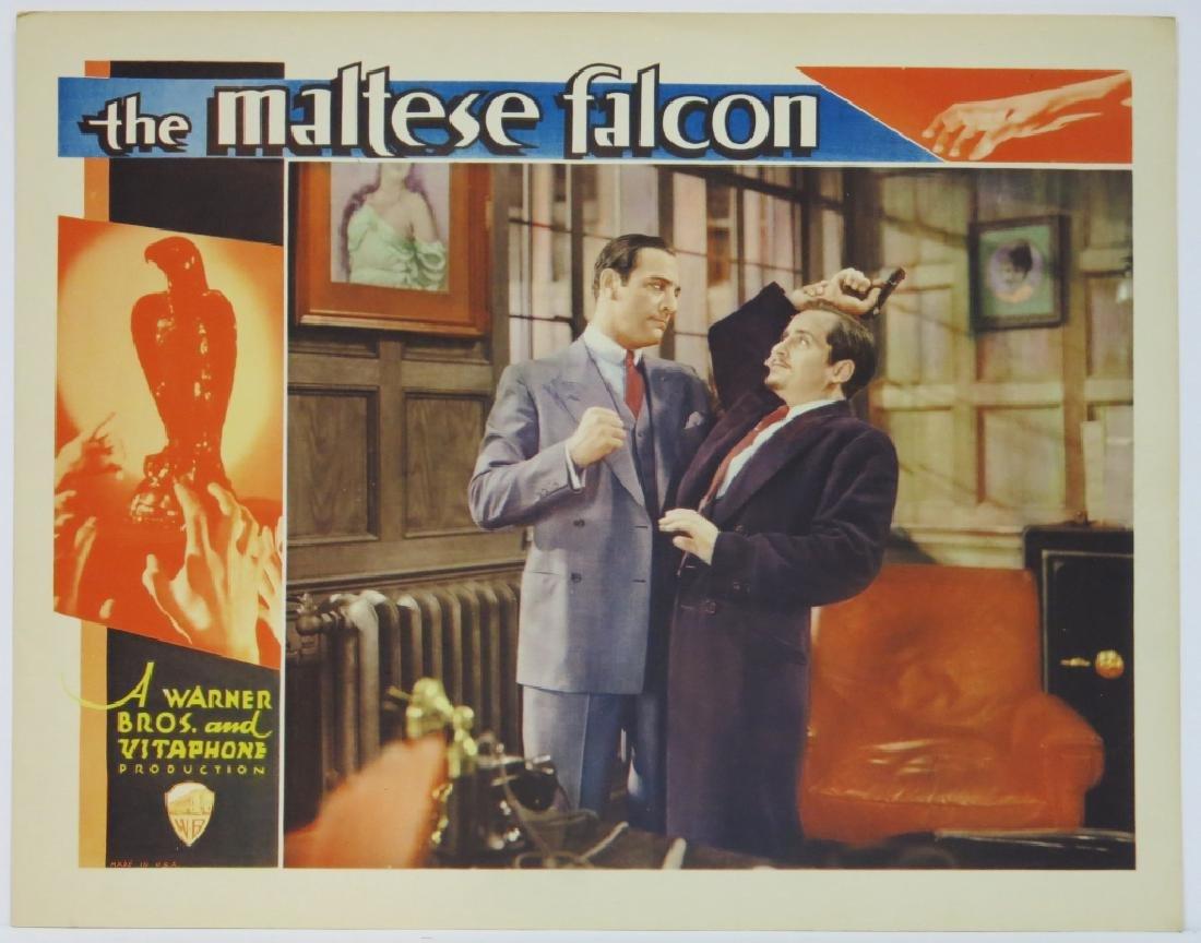 THE MALTESE FALCON LOBBY CARD WARNER BROS. 1931