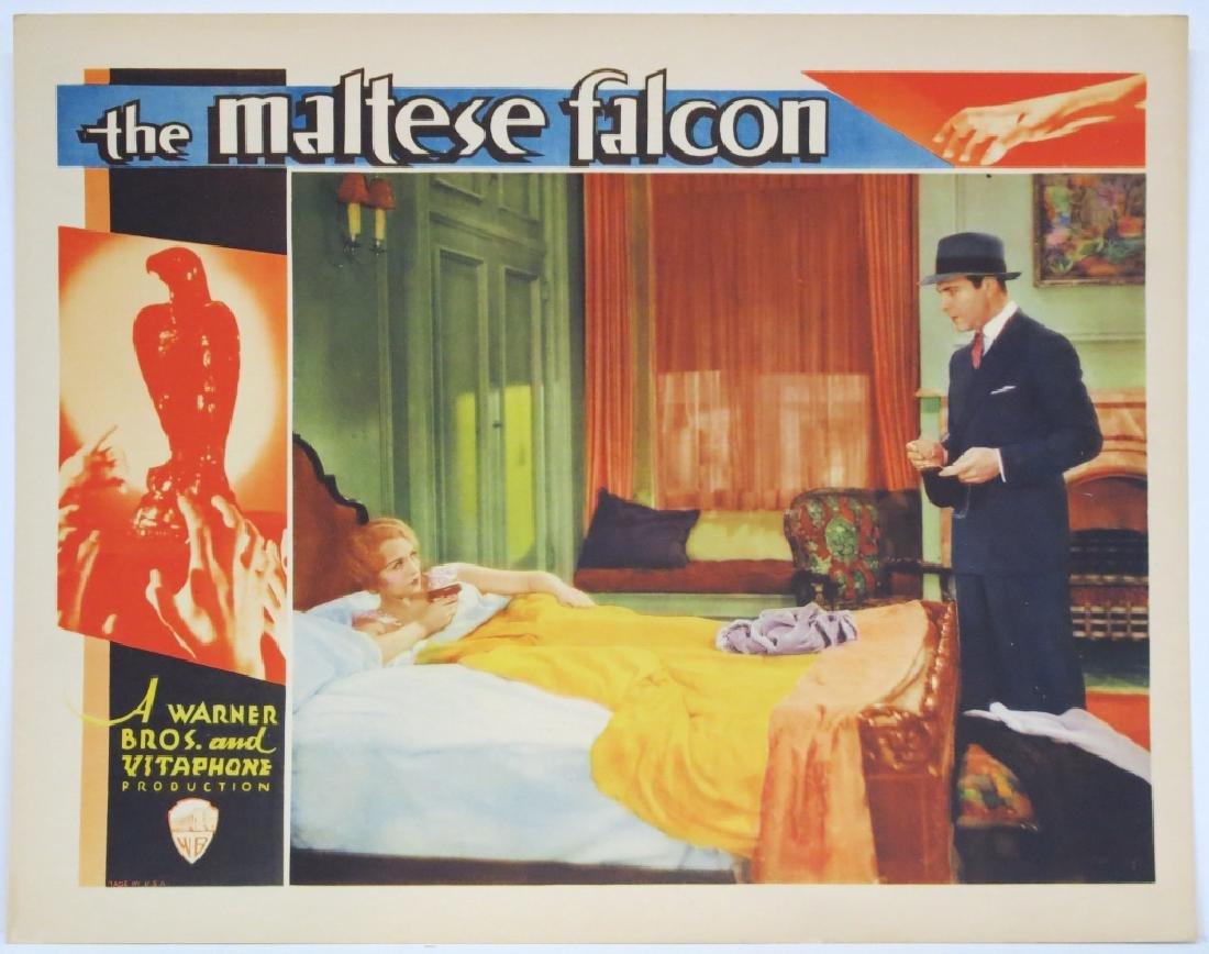 THE MALTESE FALCON LOBBY CARD WARNER BROS 1931