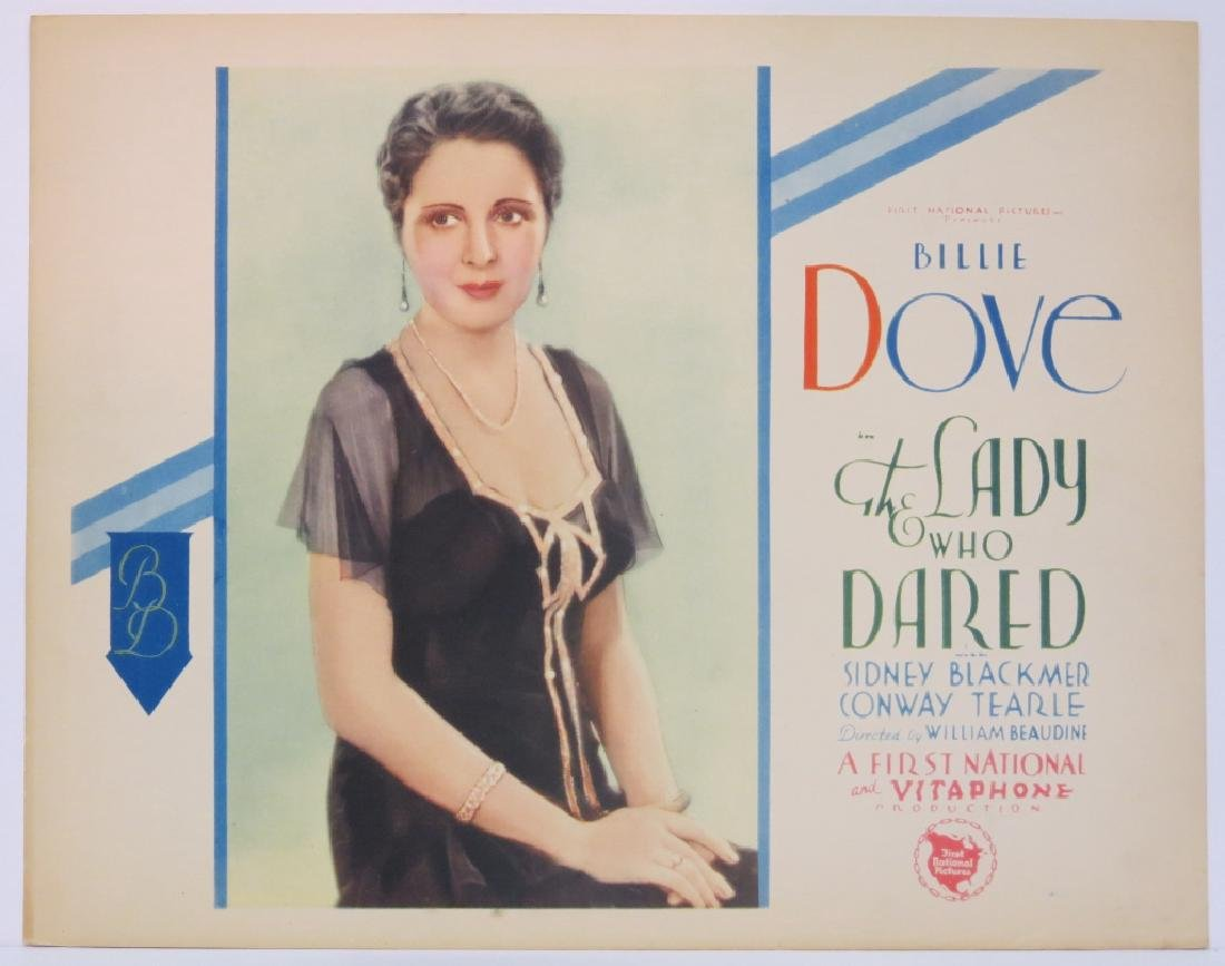 THE LADY WHO DARED LOBBY CARD SET WARNER BROS 1931 - 2