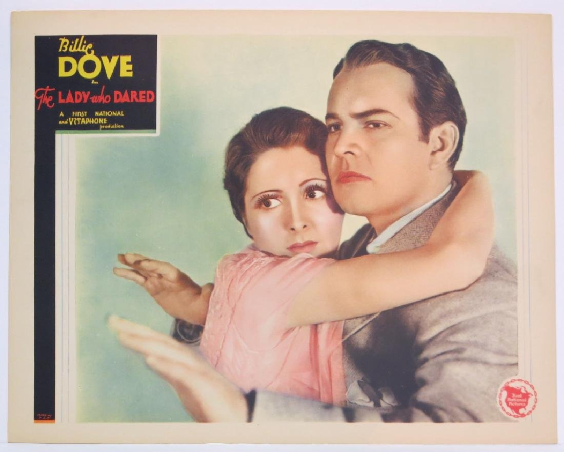 THE LADY WHO DARED LOBBY CARD SET WARNER BROS 1931 - 3