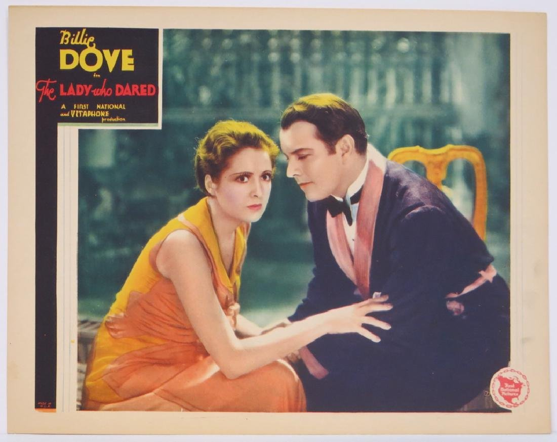 THE LADY WHO DARED LOBBY CARD SET WARNER BROS 1931 - 4
