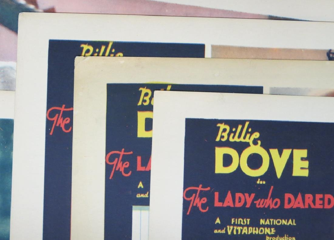 THE LADY WHO DARED LOBBY CARD SET WARNER BROS 1931 - 5
