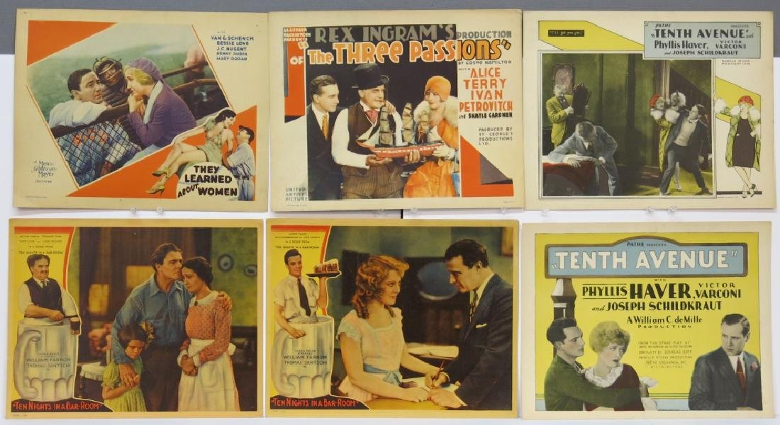 LOT OF 12 PRECODE MOVIE LOBBY CARDS - 2