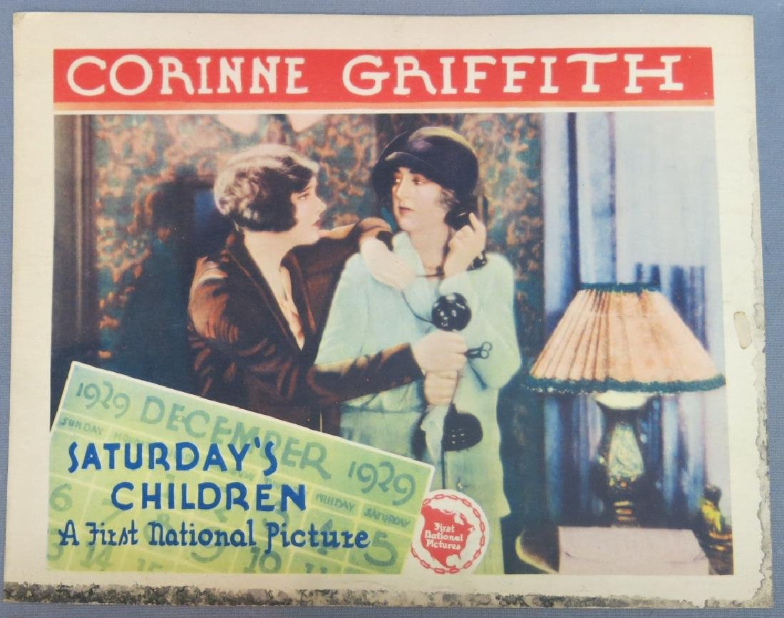 SEVEN SATURDAY'S CHILDREN LOBBY CARDS 1929 - 2