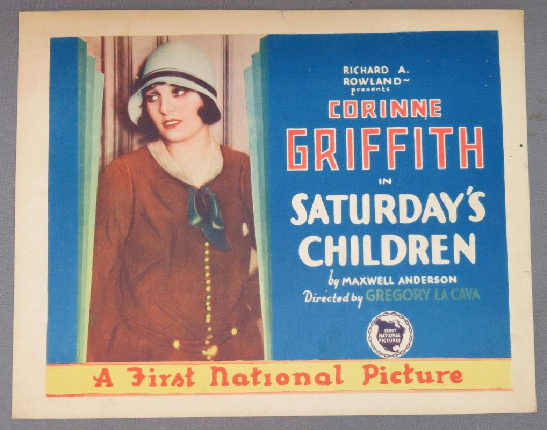 SEVEN SATURDAY'S CHILDREN LOBBY CARDS 1929 - 3