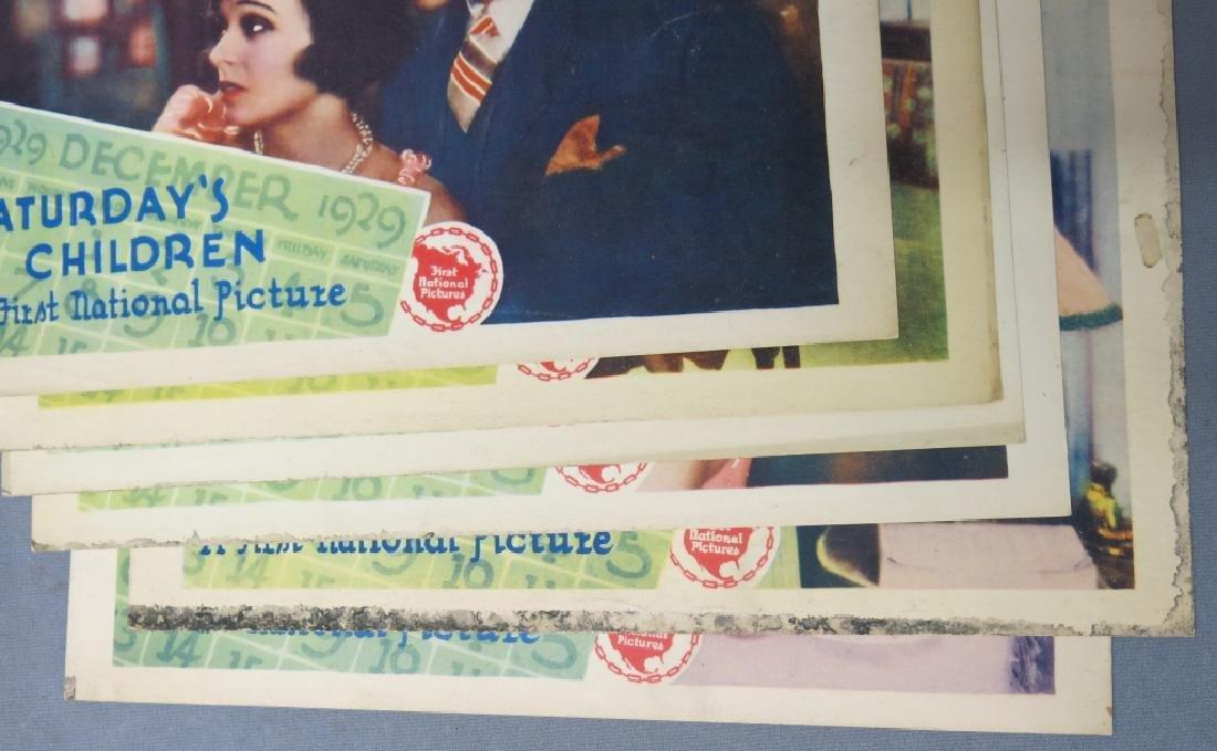 SEVEN SATURDAY'S CHILDREN LOBBY CARDS 1929 - 5