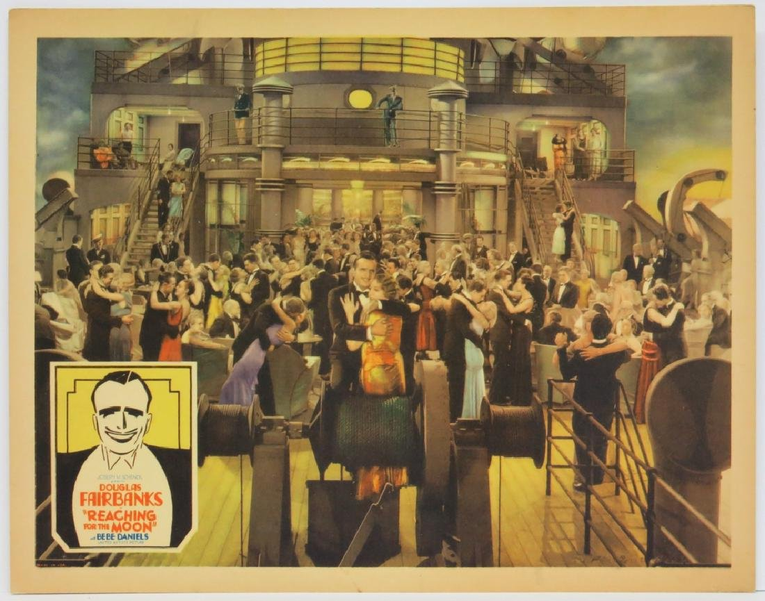 REACHING FOR THE MOON LOBBY CARD - UNITED ARTISTS