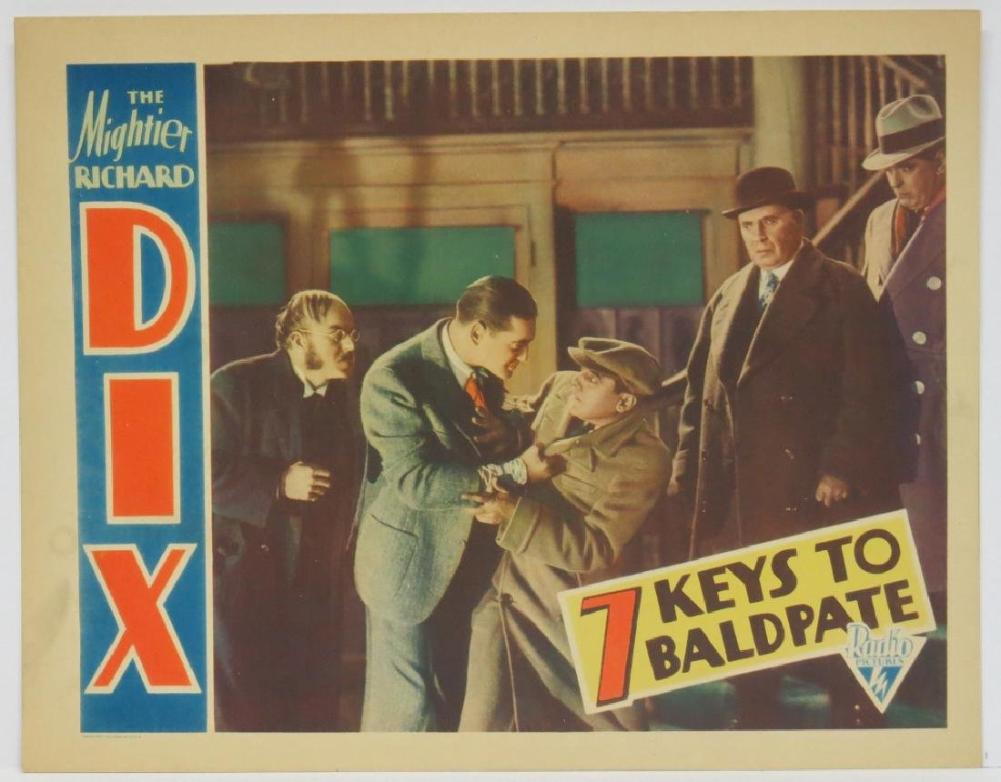 FOUR -  SEVEN KEYS TO BALDPATE LOBBY CARDS - 5