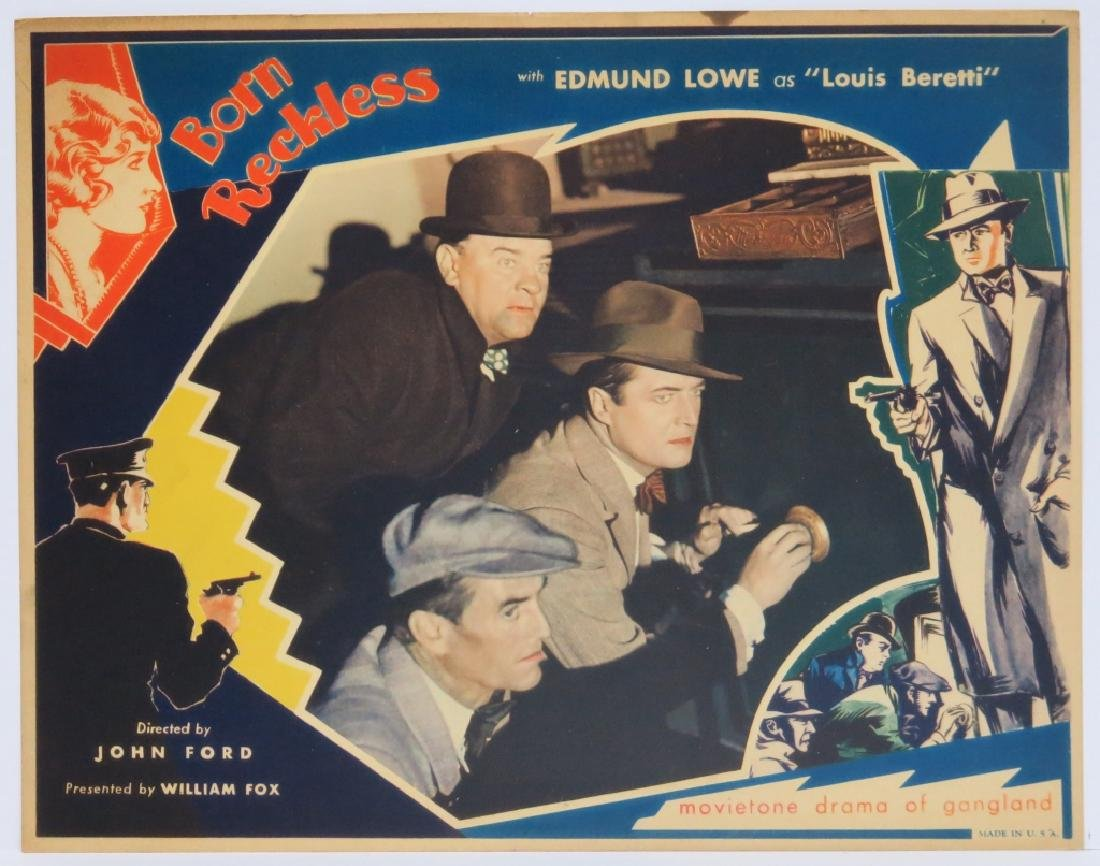 BORN RECKLESS LOBBY CARD SET - JOHN FORD 1930 - 8