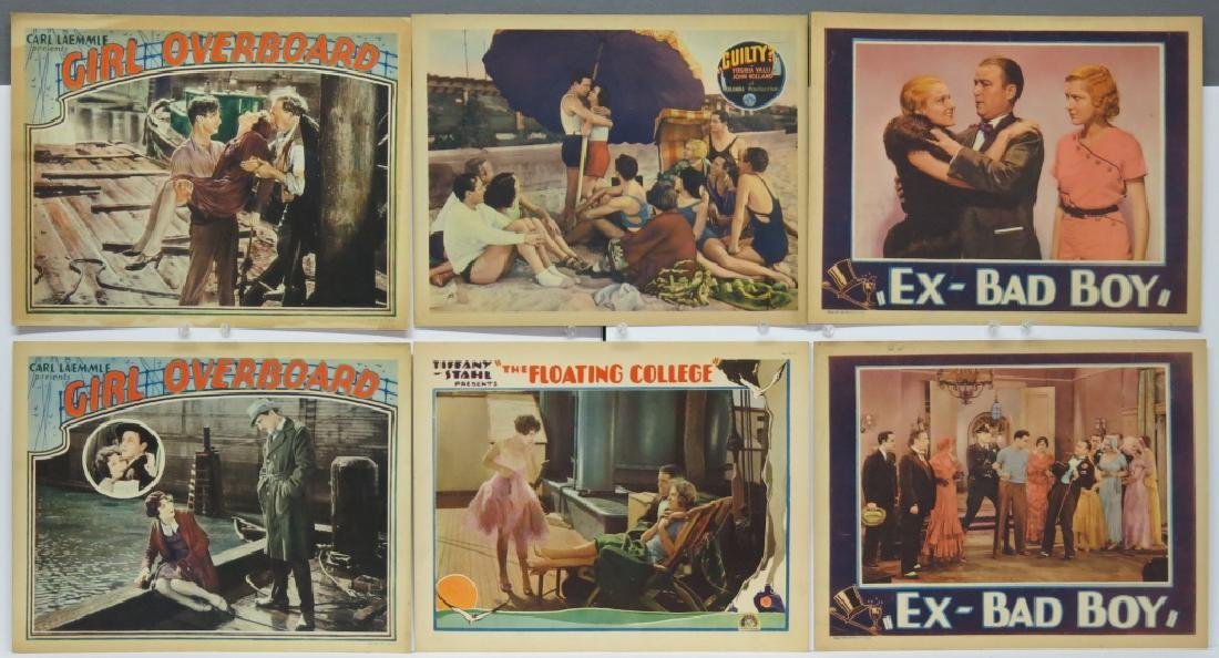 LOT OF 10 PRECODE MOVIE LOBBY CARDS - 2