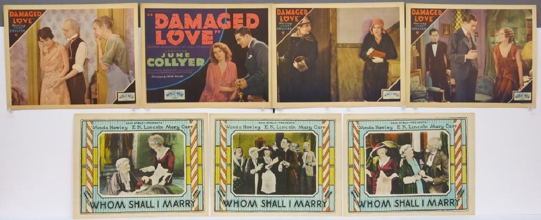 LOT OF 12 PRECODE MOVIE LOBBY CARDS