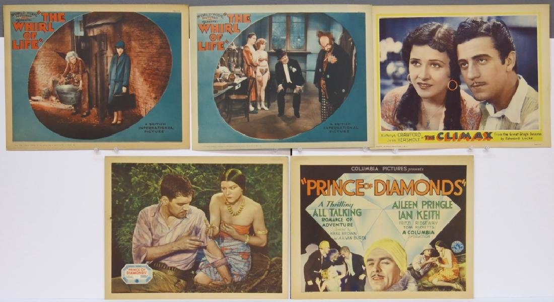 LOT OF 12 PRECODE MOVIE LOBBY CARDS - 2