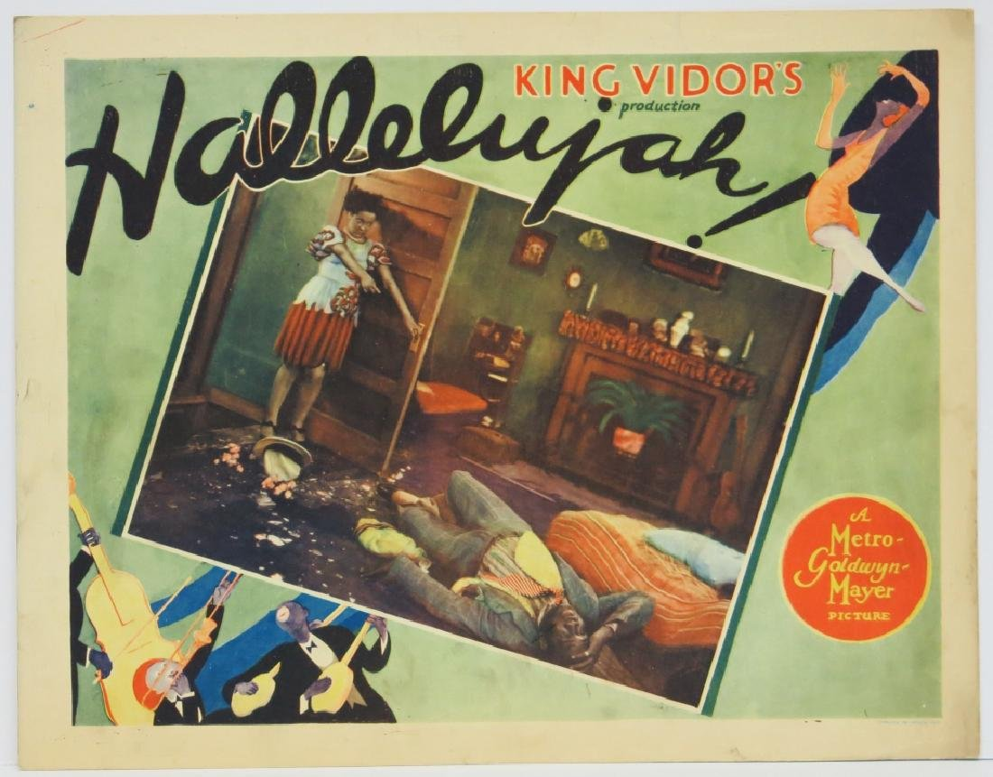 TWO HALLELUJAH! LOBBY CARDS - MGM 1929 - 2