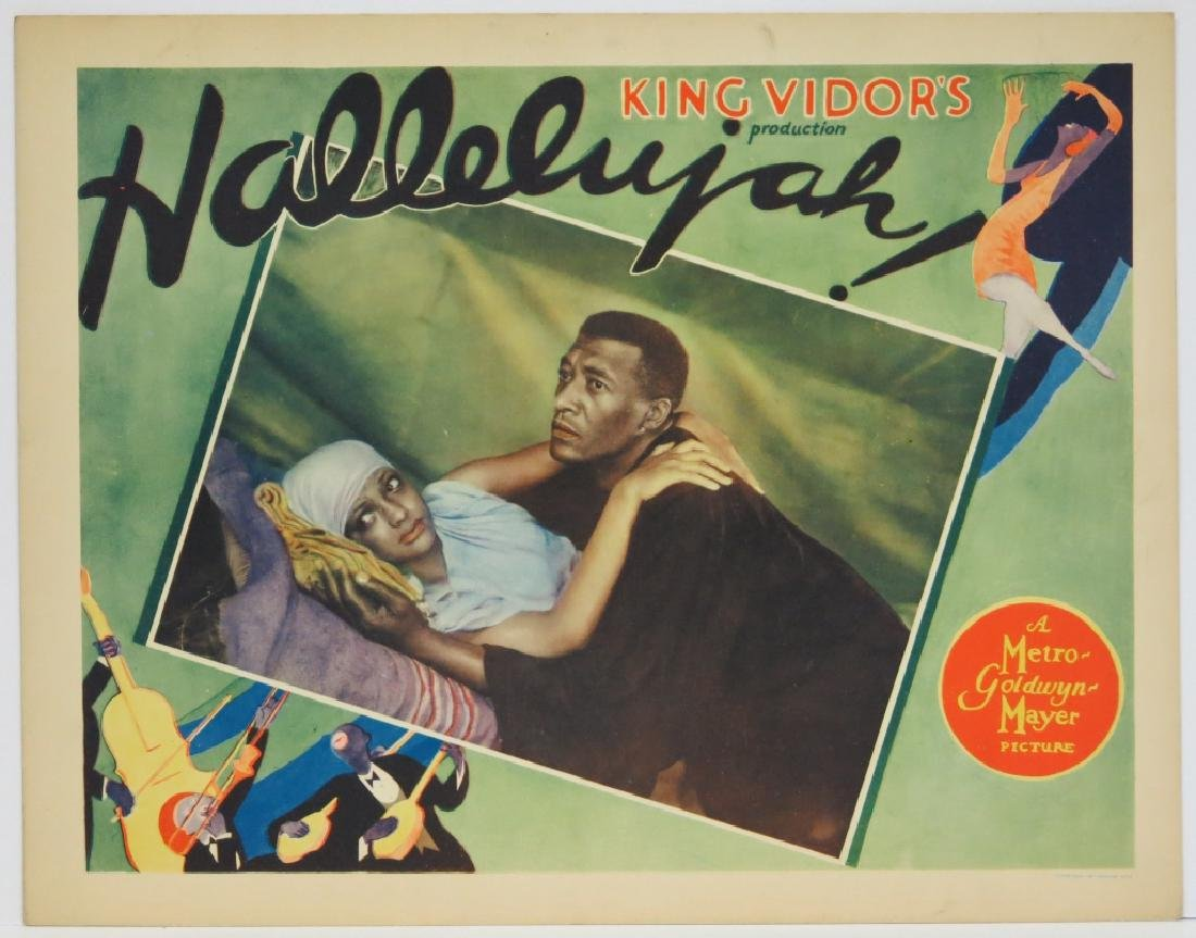 TWO HALLELUJAH! LOBBY CARDS - MGM 1929 - 3