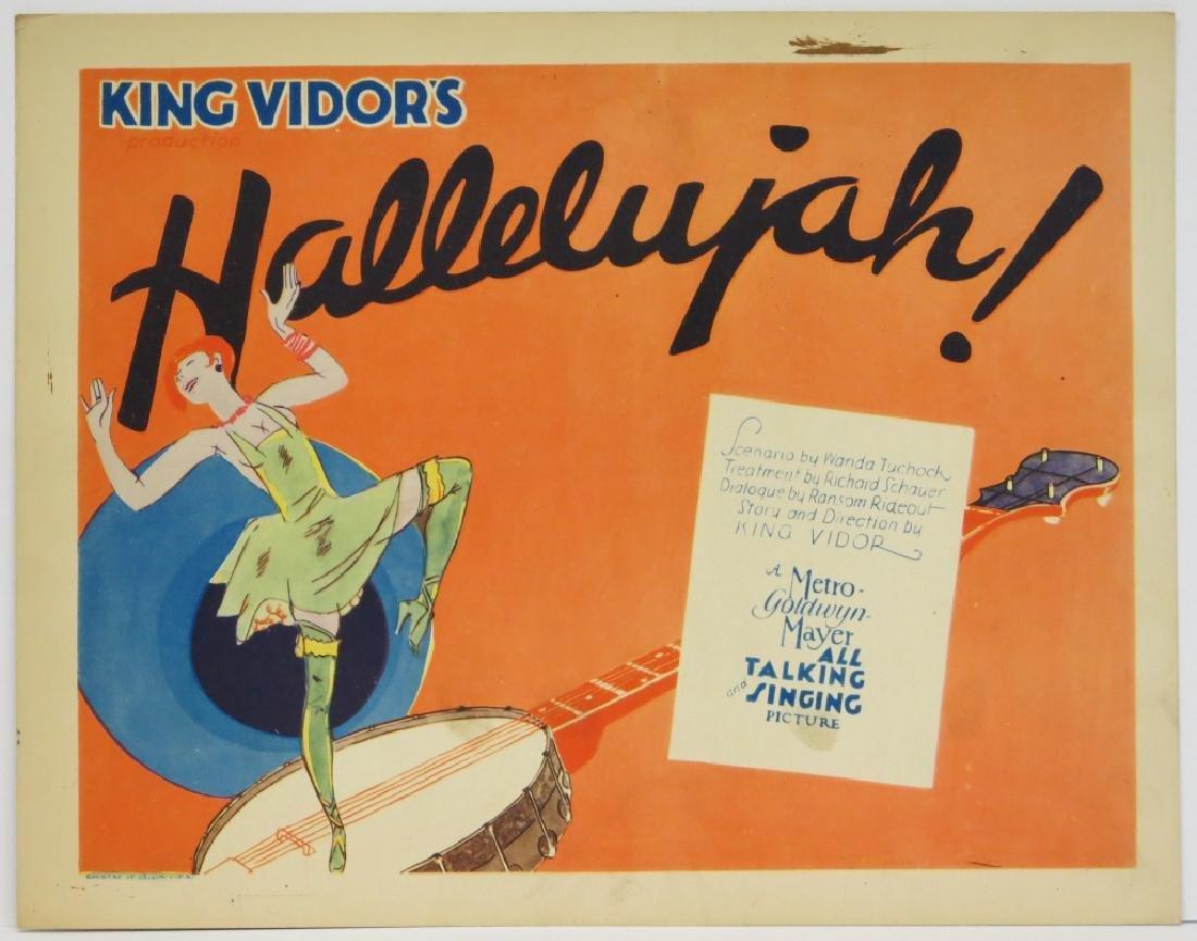 HALLELUJAH! LOBBY TITLE CARD MGM 1929