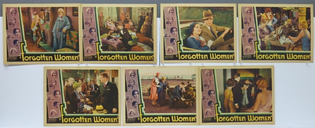 LOT OF 7 FORGOTTEN WOMEN LOBBY CARDS