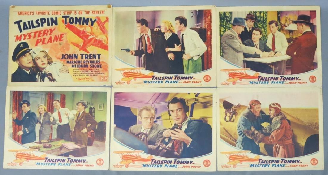 LOT OF 14 AERONAUTICAL MOVIE LOBBY CARDS
