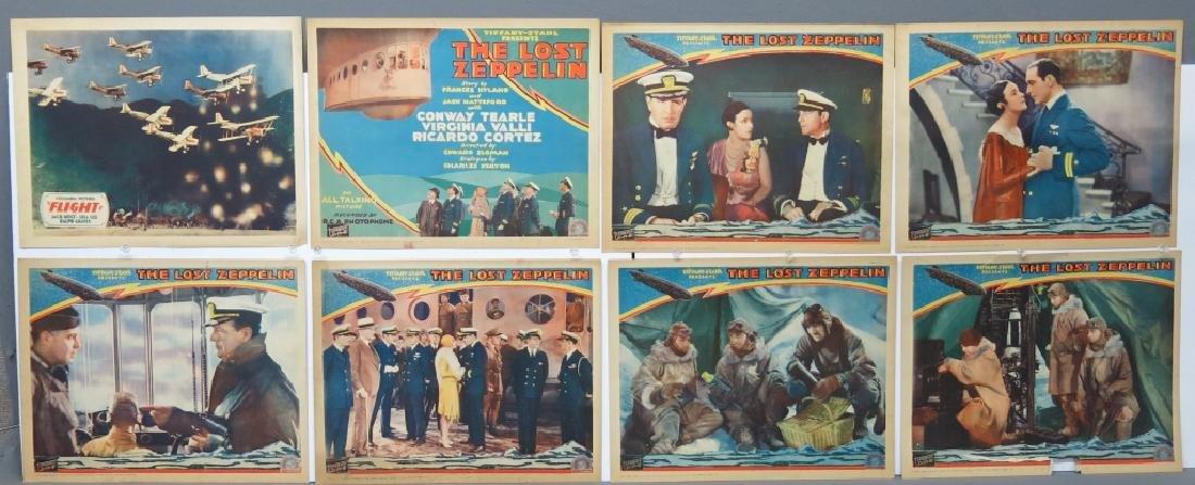 LOT OF 14 AERONAUTICAL MOVIE LOBBY CARDS - 2