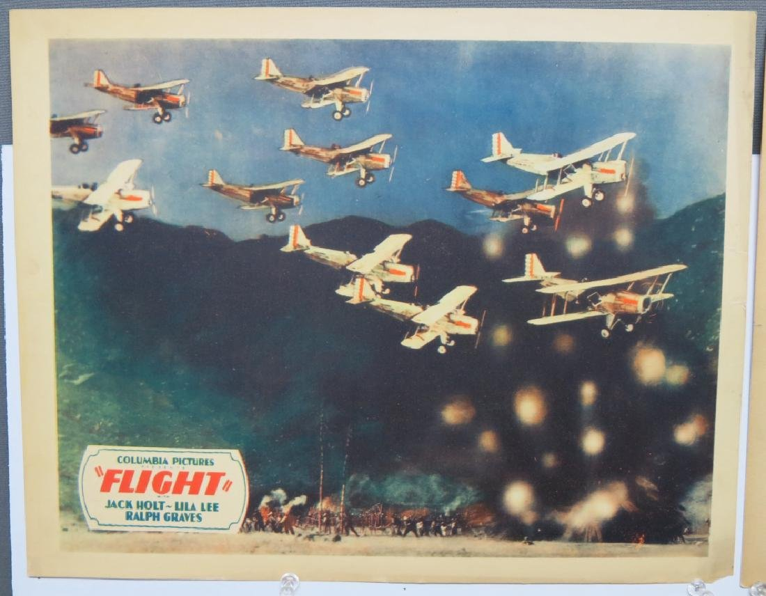 LOT OF 14 AERONAUTICAL MOVIE LOBBY CARDS - 4