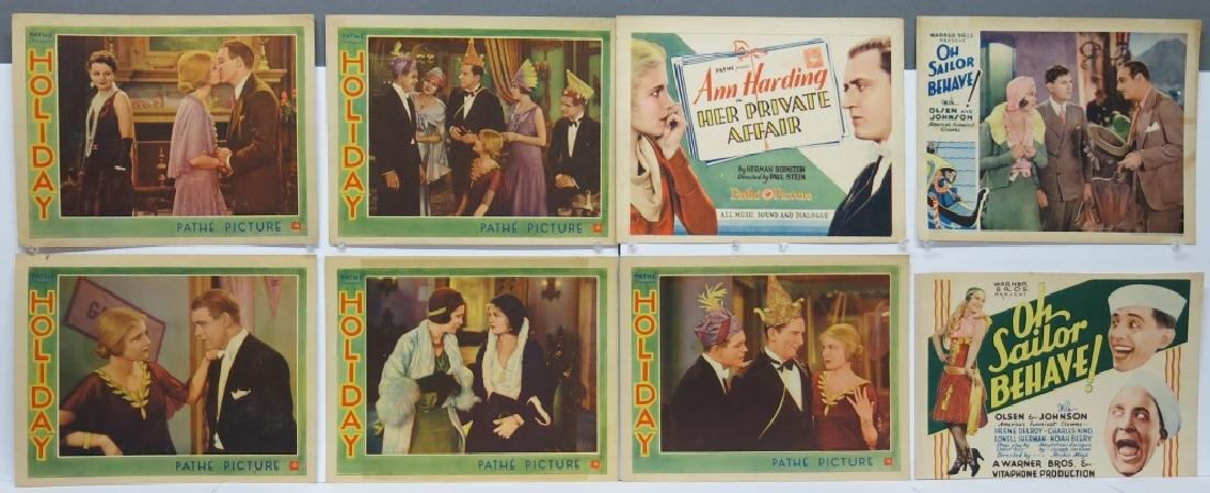 LOT OF 16 PRECODE MOVIE LOBBY CARDS - 2