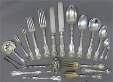 """WHITING """"IMPERIAL QUEEN"""" FLATWARE SERVICE"""