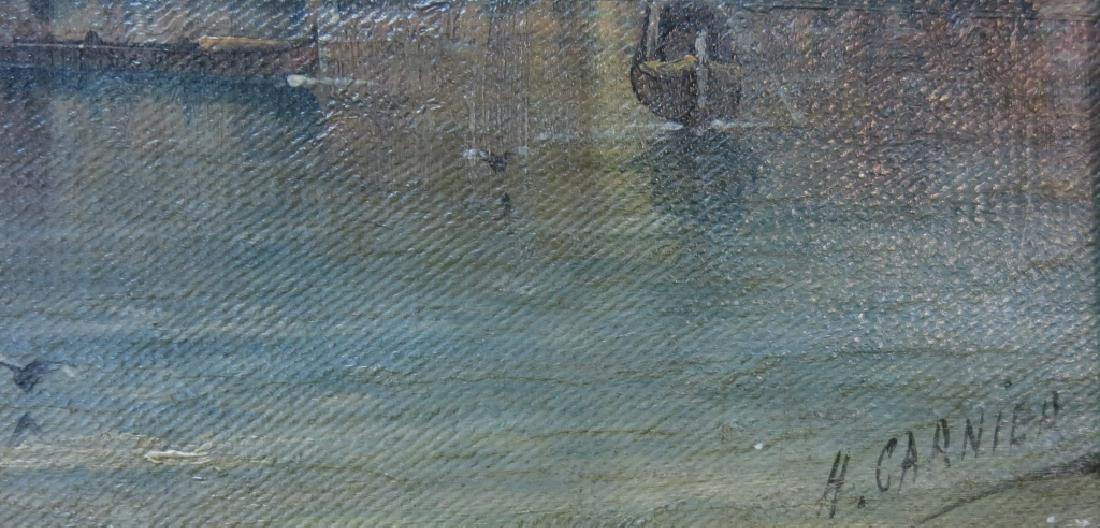 H. CARNIER (KARL KAUFMANN) PAINTING OF VENICE - 3
