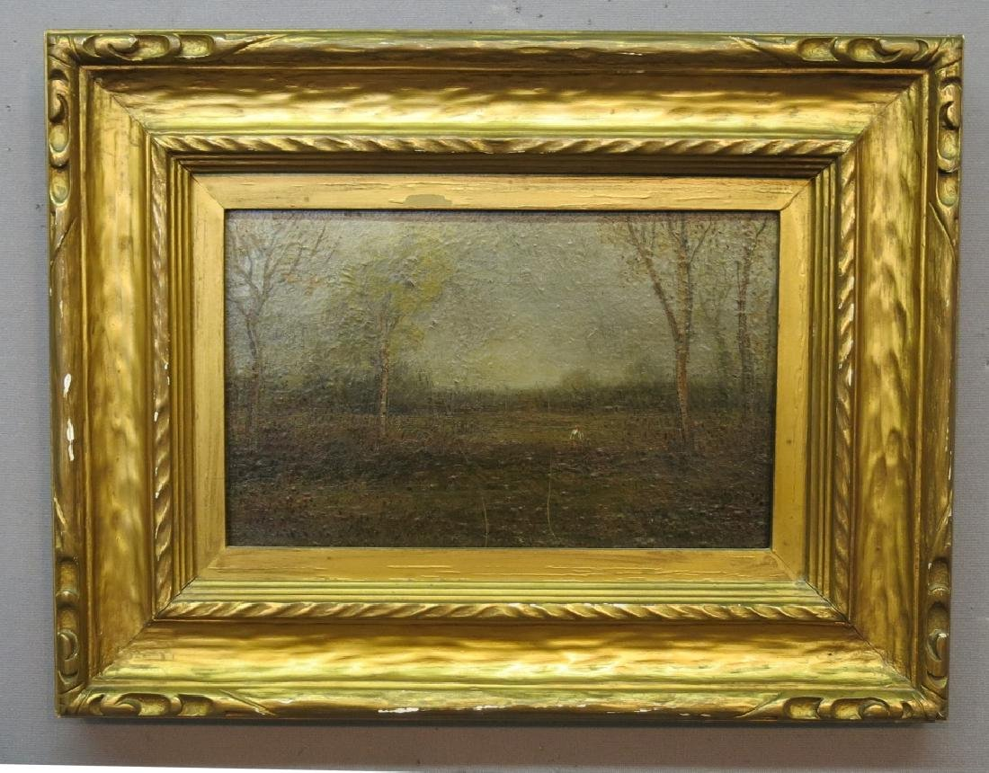 UNSIGNED IMPRESSIONIST OIL LANDSCAPE PAINTING