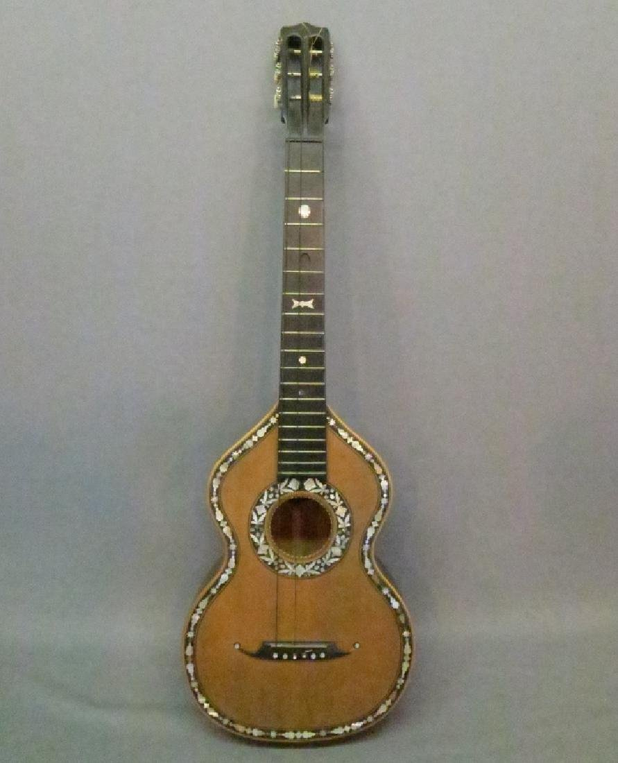 ORNATLEY INLAID SPANISH PARLOR GUITAR