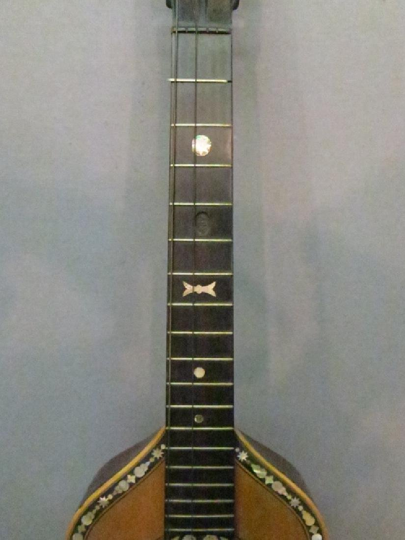 ORNATLEY INLAID SPANISH PARLOR GUITAR - 2