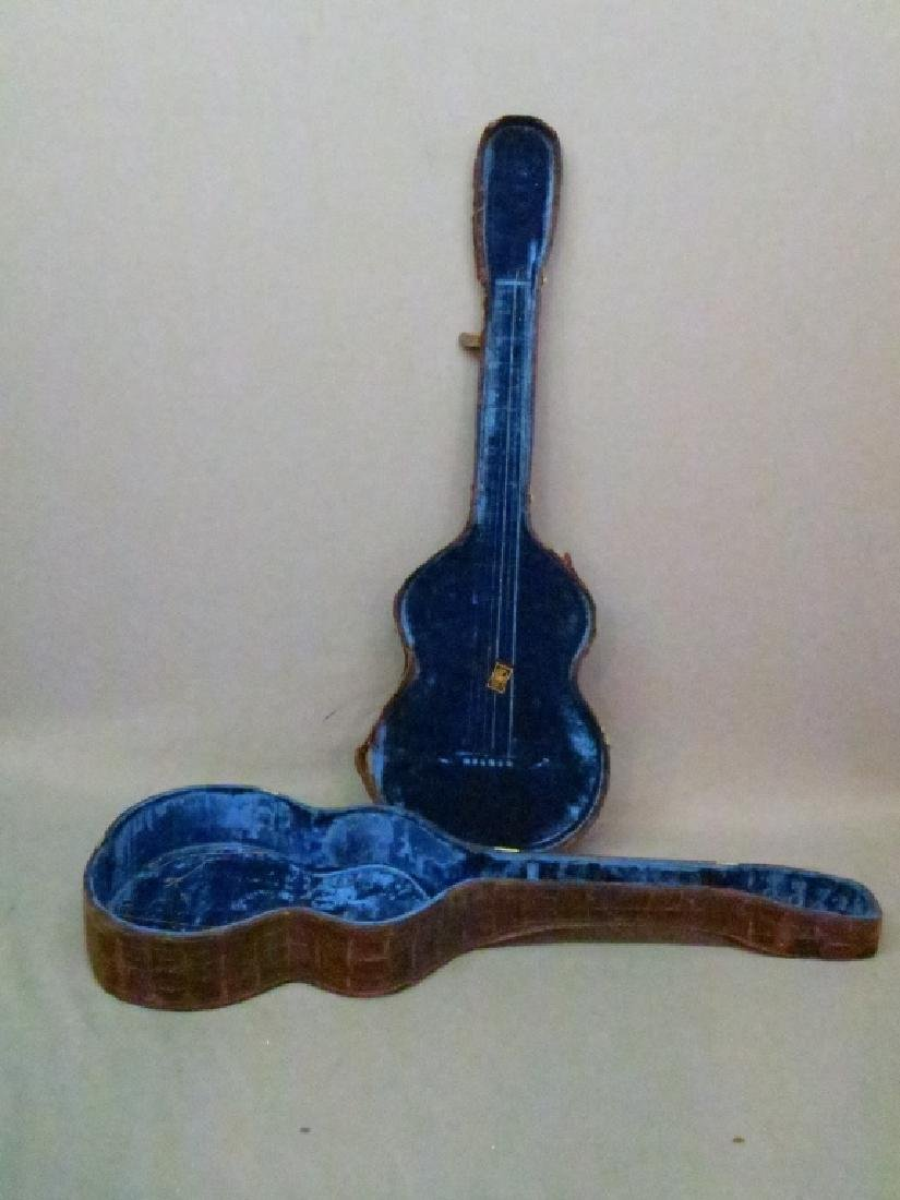 ORNATLEY INLAID SPANISH PARLOR GUITAR - 4