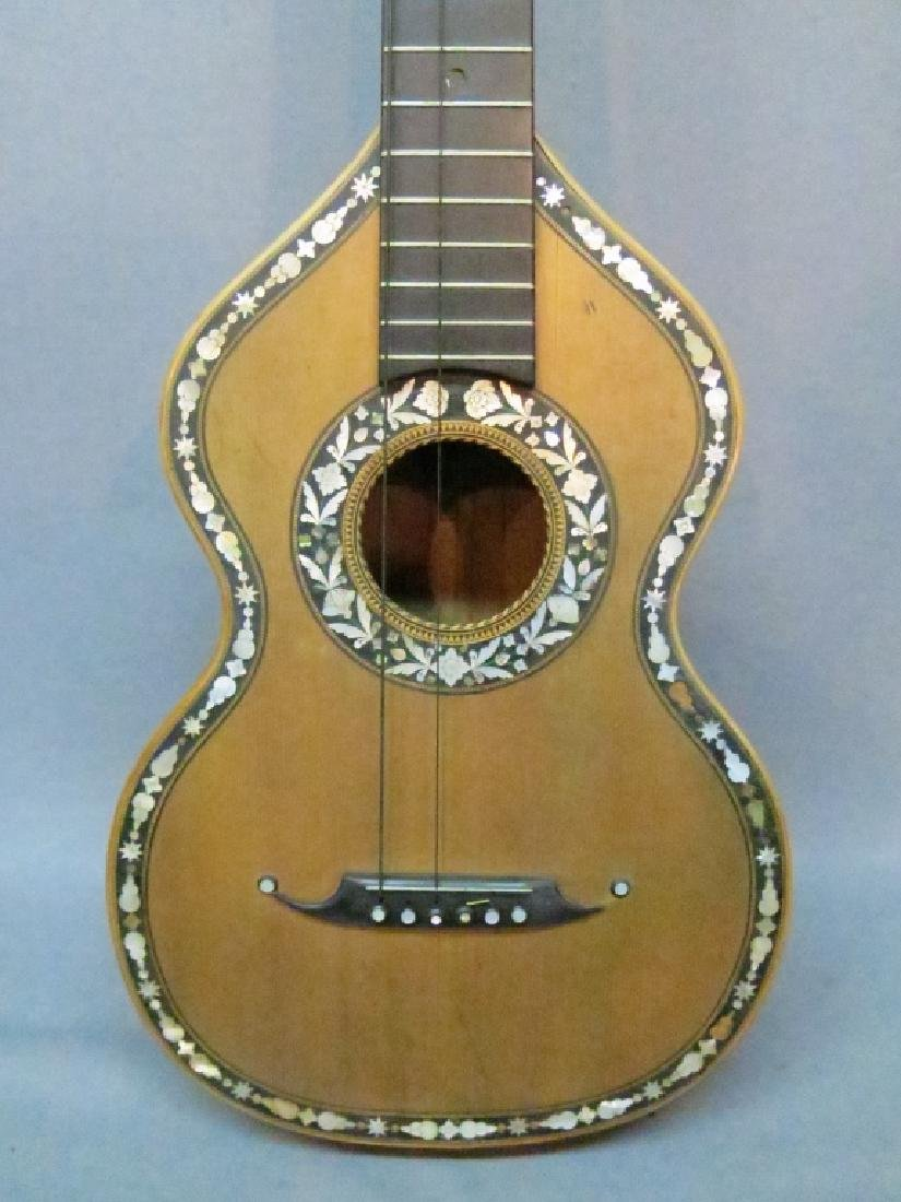 ORNATLEY INLAID SPANISH PARLOR GUITAR - 6