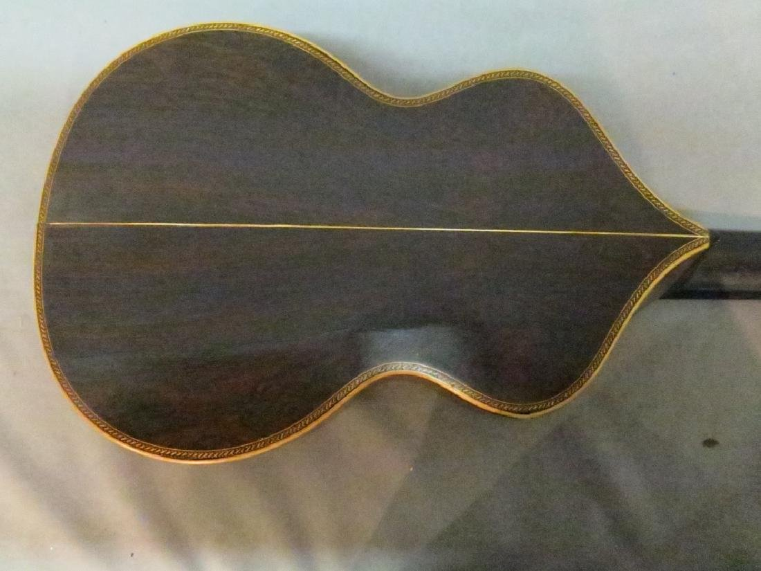 ORNATLEY INLAID SPANISH PARLOR GUITAR - 7