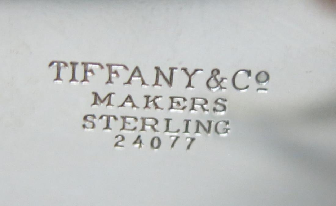 TIFFANY & CO STERLING SILVER FOOTED BOWL - 2