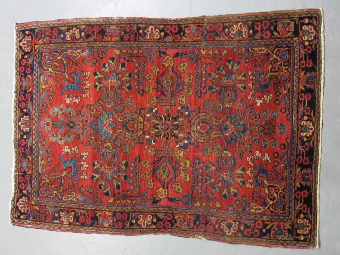 EARLY 20TH C. PERSIAN SAROUK AREA  RUG