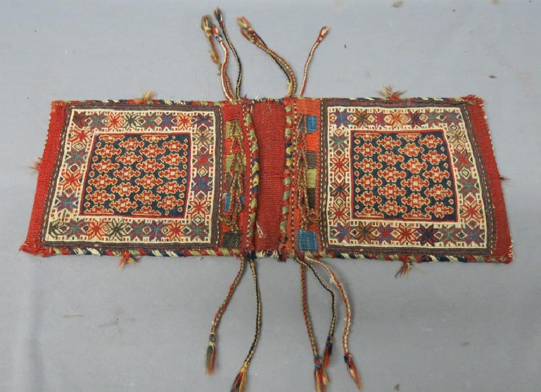 SMALL PERSIAN SOUMACK SADDLE BAG