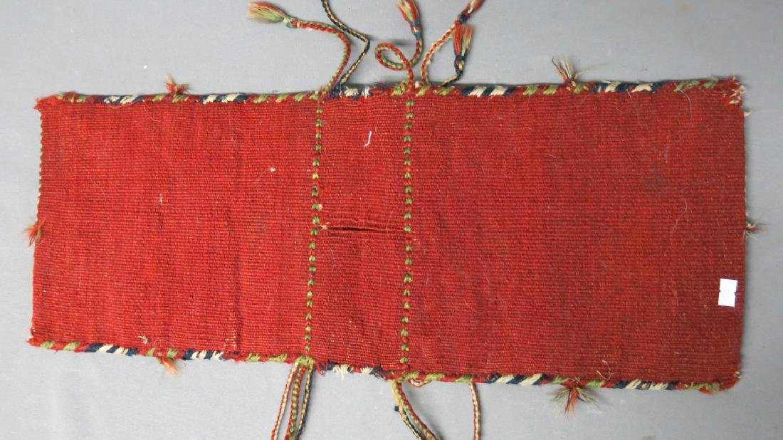 SMALL PERSIAN SOUMACK SADDLE BAG - 2