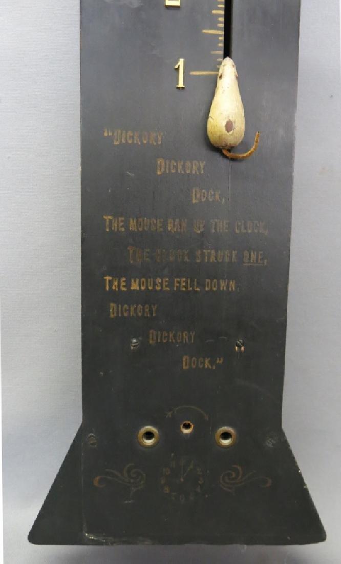 DICKORY DICKORY NOVELTY CLOCK BY DUNGAN & KLUMP - 3