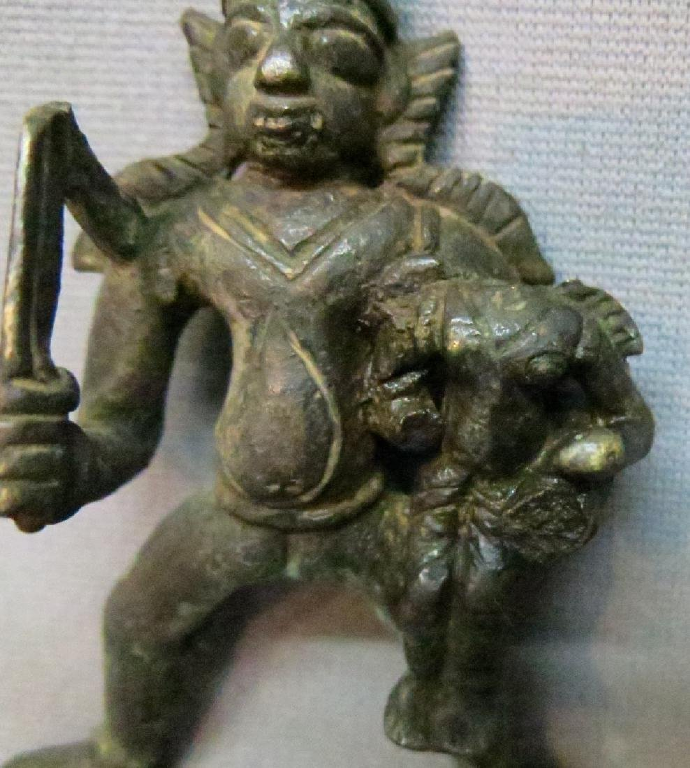TWO ASIAN BRONZE FIGURES - 4