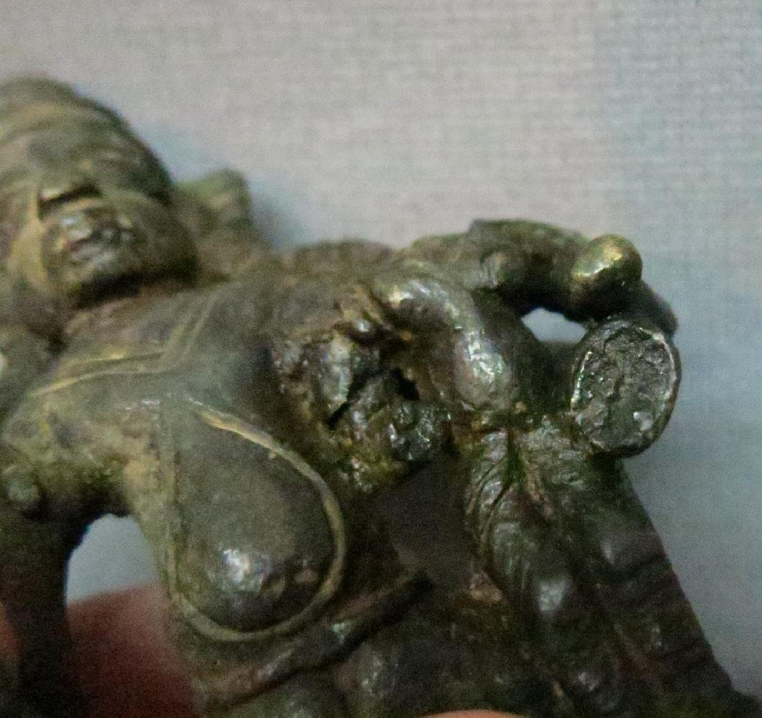 TWO ASIAN BRONZE FIGURES - 5