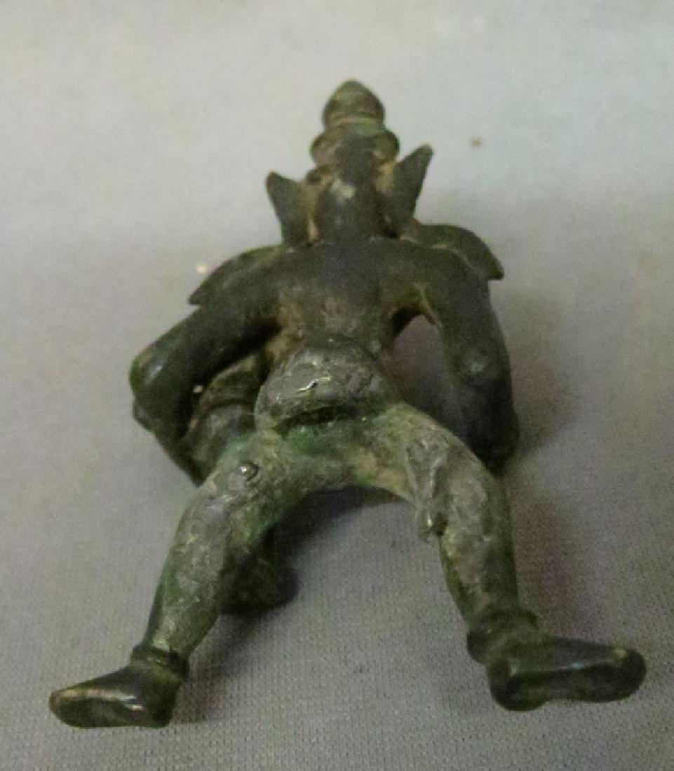 TWO ASIAN BRONZE FIGURES - 6