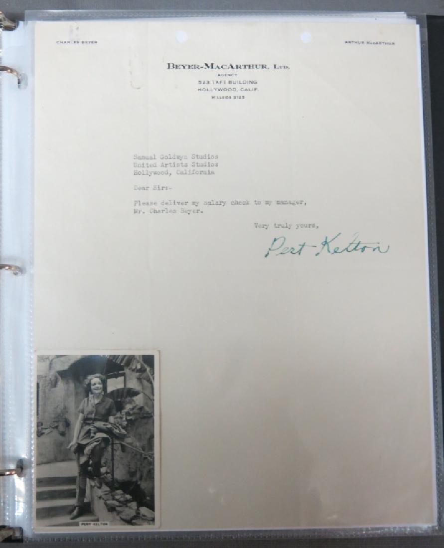 ALBUM OF CELEBRITY AUTOGRAPHS AND PHOTOS - 3