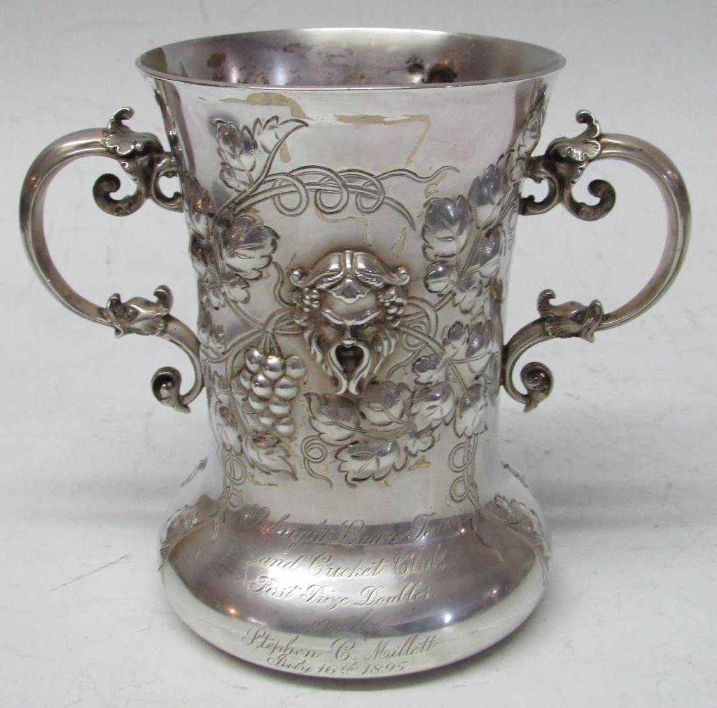 LATE 19TH C. DOMINICK & HAFF STERLING SILVER CUP
