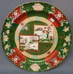 "MASON'S IRONSTONE 13"" CHARGER C. 1880 'JAPAN'"